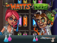 Игровой автомат Dr. Watts Up на зеркале Вулкан