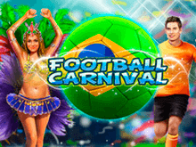 Бесплатный онлайн автомат Футбольный Карнавал