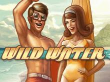 Игровой автомат Дикая Вода на зеркале сайта